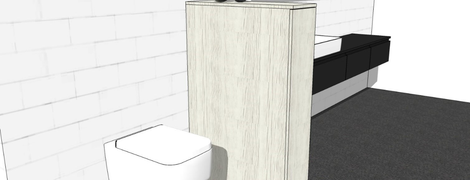 Samen maar toch apart! Een toilet in jouw badkamer.