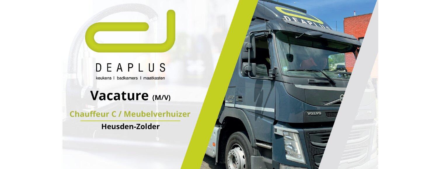Chauffeur C / Meubelverhuizer (m/v)