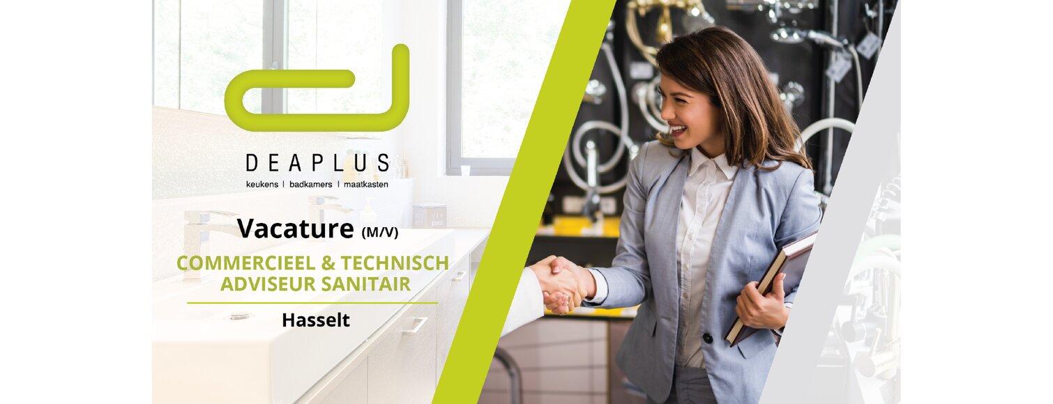 Commercieel & Technisch Adviseur Sanitair (M/V)