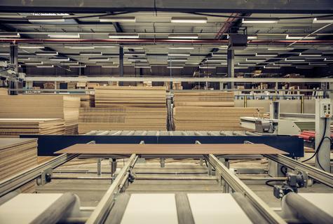 De automatische sorteer machine bij Nuno Design