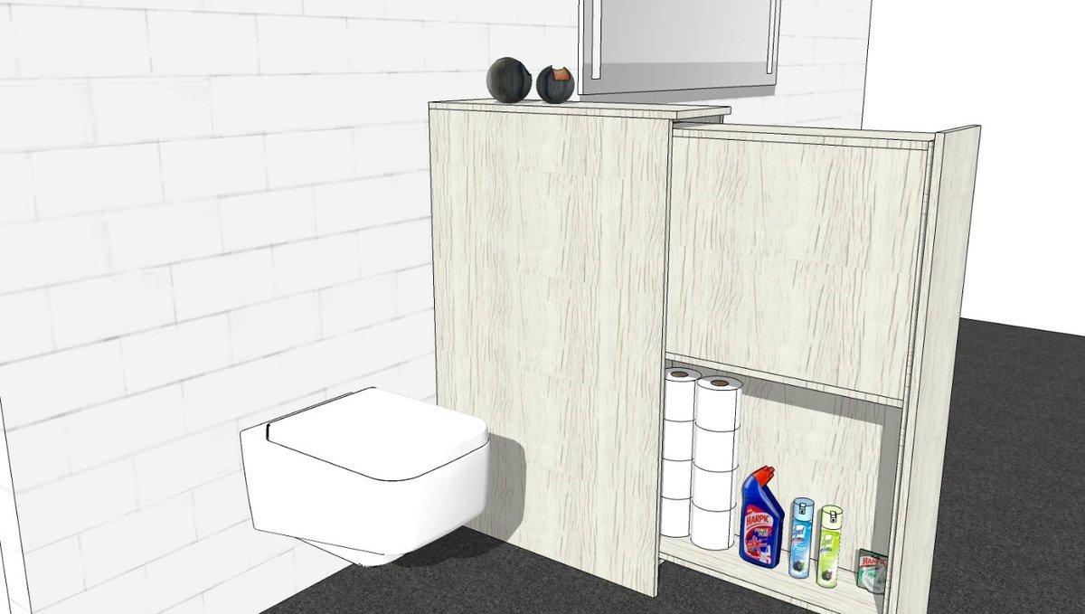 Wc En Badkamers : Wit bidet en wc gecoördineerde in een moderne badkamers royalty